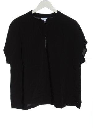 Coster Copenhagen Blouse à manches courtes noir style décontracté
