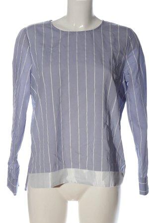 Coster Copenhagen Blouse à manches longues bleu-blanc motif rayé