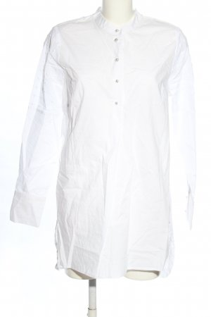 Coster Copenhagen Long-Bluse weiß Casual-Look