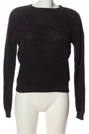 Costes Crochet Sweater brown casual look