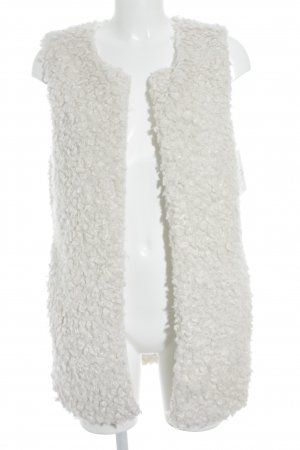 Costes Fake Fur Vest natural white casual look