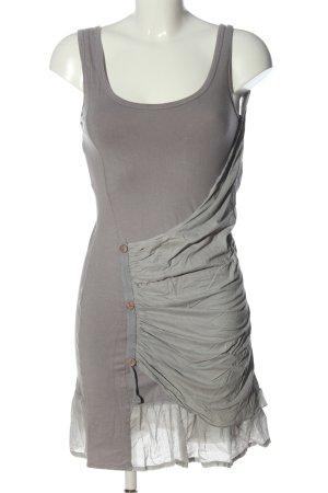 Costes Mini Dress light grey extravagant style
