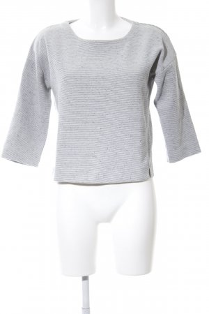 Costes Oversized Sweater light grey flecked casual look