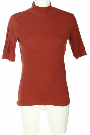 Costes Turtleneck Shirt red casual look