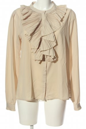 Costes Ruffled Blouse cream business style