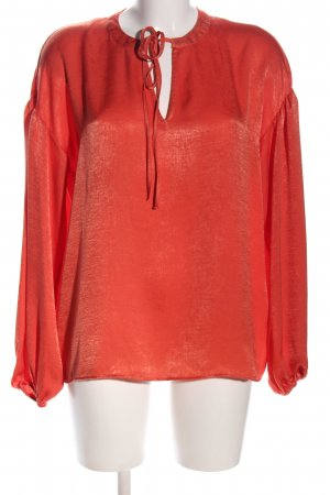 Costes Schlupf-Bluse rot Business-Look