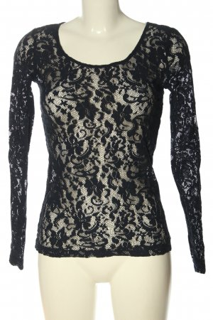 Costes Lace Blouse black casual look