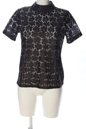 Costes Lace Blouse black elegant