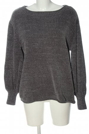 Costes Knitted Sweater light grey casual look
