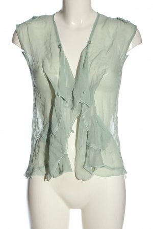 Costes Transparent Blouse green extravagant style