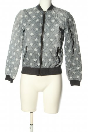 Costes Between-Seasons Jacket themed print casual look