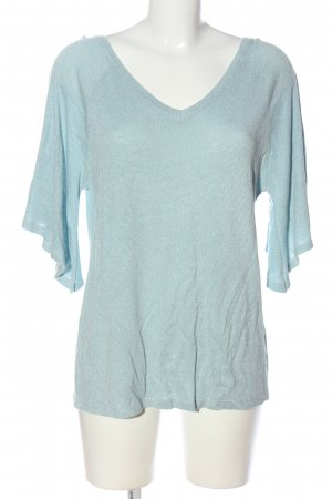 Costes V-Neck Sweater turquoise casual look