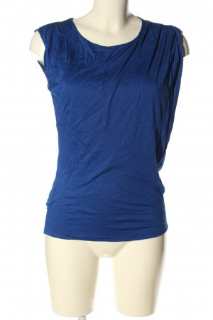 Costume National Top basic blu stile casual