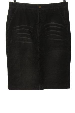 Costume National Gonna a tubino nero stile casual