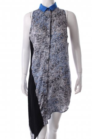 Costume National Blouse Dress abstract pattern