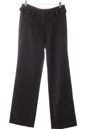 Costume National Pantalone di velluto a coste grigio motivo a quadri