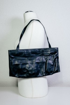 Costume National Carry Bag black leather