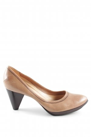 Costume National High Heels brown business style