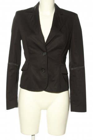 Costume National Blazer court brun style d'affaires