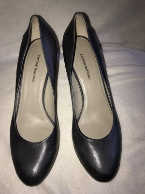 Costume National Mary Jane Pumps multicolored leather