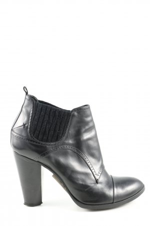 Costume National Slip-on Booties black business style