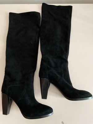 Costume National Heel Boots black leather