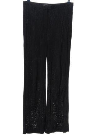 Costume National Pantalone jersey nero stile casual