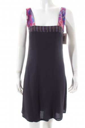 Costume National Pinafore dress multicolored casual look