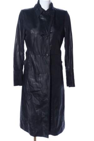 Costume National Trench Coat black casual look