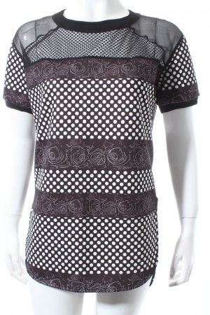 Costume Nemutso Longshirt schwarz-weiß Casual-Look