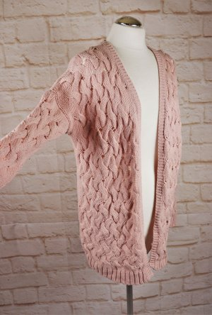 Jacqueline de Yong Coarse Knitted Jacket multicolored polyacrylic