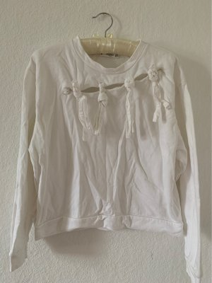 Cosy Sweatshirt weiß
