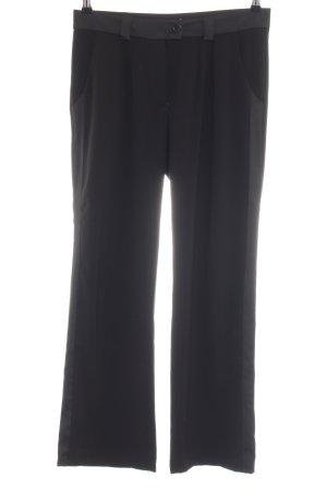 Cotélac Pantalone da abito nero stile professionale