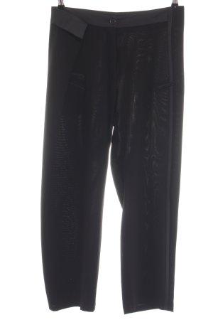 Cotélac Pantalone da abito nero stile casual
