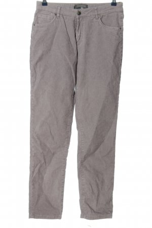 Cotélac Corduroy Trousers light grey casual look