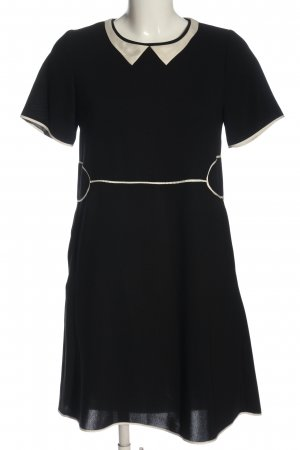 Cotélac Shortsleeve Dress black-natural white casual look