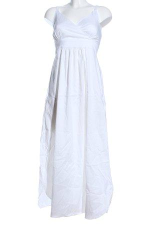 Cotélac Maxi abito bianco stile casual