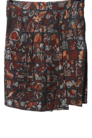 Cotélac Midi Skirt abstract pattern elegant