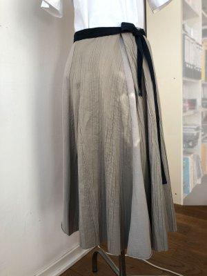 Cotélac Midi Skirt light grey elegant
