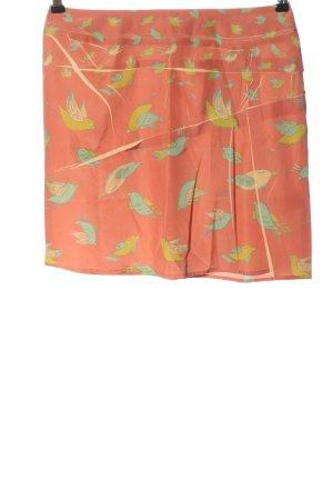 Cotélac Miniskirt allover print casual look