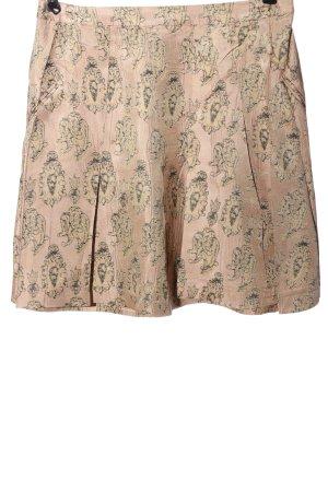 Cotélac Miniskirt nude-natural white allover print elegant