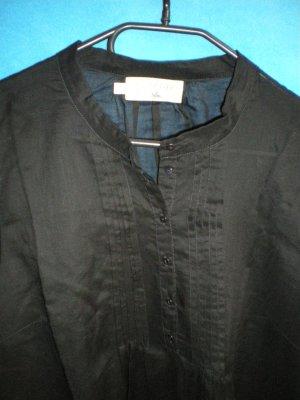 Cotélac, zarte Bluse, schwarz, Gr. 3