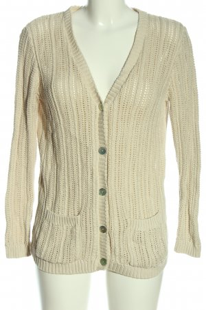 cotswold Strick Cardigan wollweiß Casual-Look