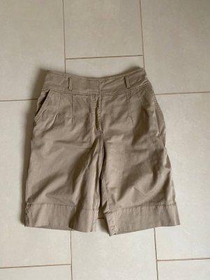 Cotton Beige Shorts Dolce & Gabbana
