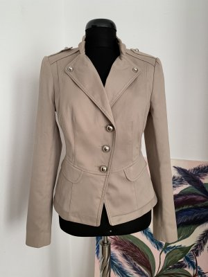 Cotton Blazer in Military-Look von Luxusmarke OUI