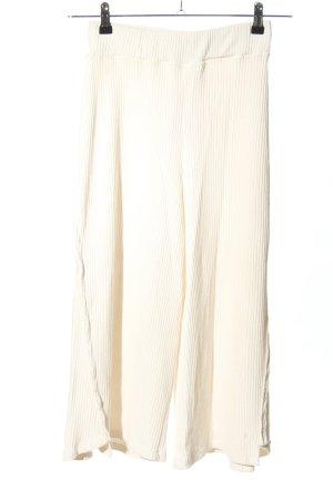 Cotton Candy Pantalone a 3/4 bianco stile casual