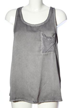 Cotton Candy Canottiera grigio chiaro puntinato stile casual