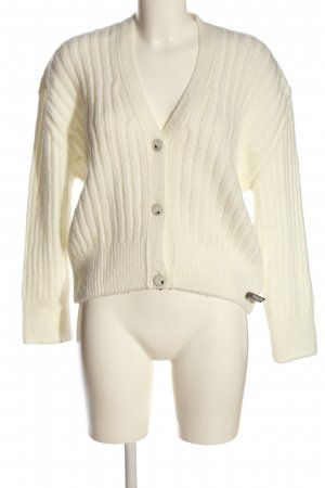Cotton Candy Cardigan natural white casual look