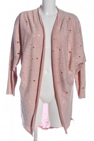 Cotton Candy Cardigan motivo a righe stile casual