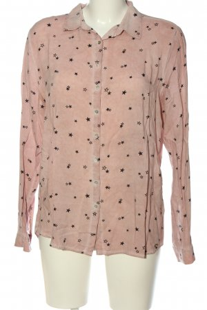 Cotton Candy Shirt Blouse pink allover print casual look